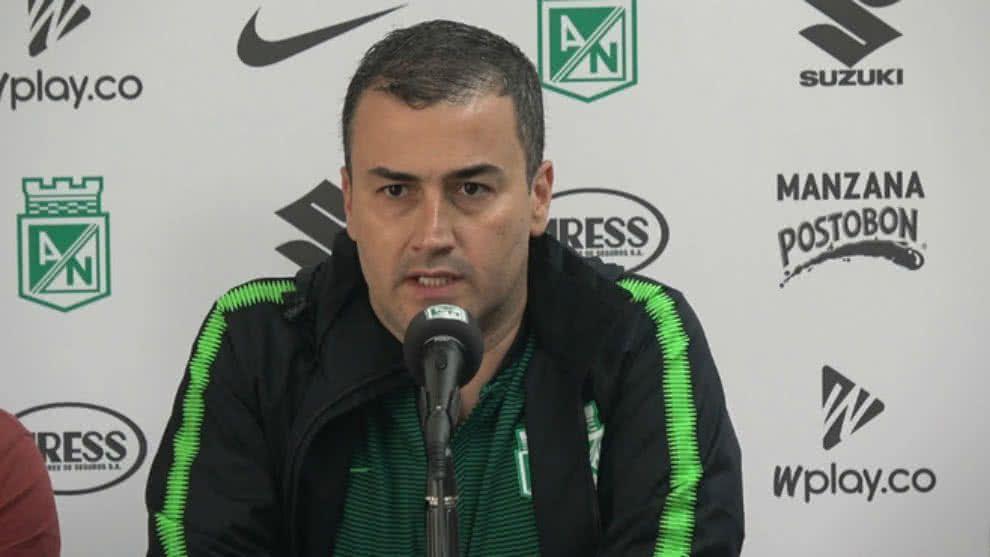 "Juan David Pérez: ""Nos pusieron otra vez un árbitro con cinco partidos en primera"""