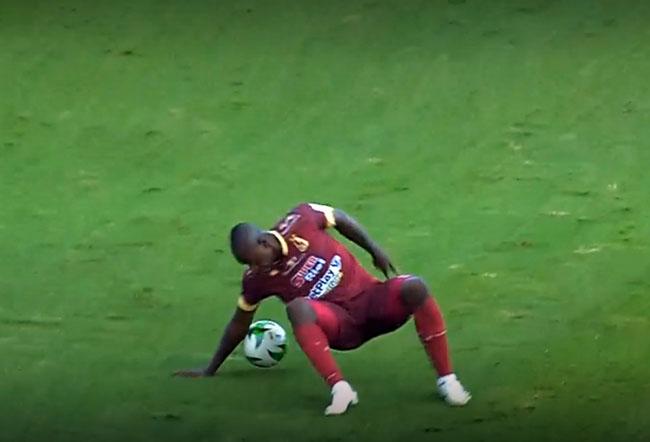 Juan Fernando Caicedo, Deportes Tolima, DIM, Deportivo Independiente Medellín, Liga BetPlay 2021-I, brazo (1)