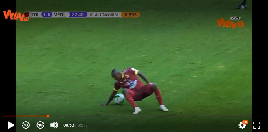 Juan Fernando Caicedo, Deportes Tolima, DIM, Deportivo Independiente Medellín, Liga BetPlay 2021-I, brazo (3)