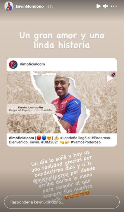 Kevin Londoño, Deportivo Independiente Medellín, DIM (3)
