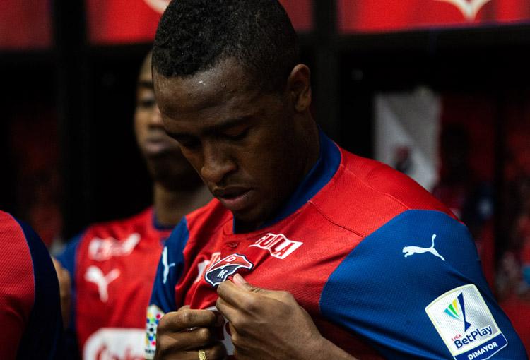 Kevin Londoño, Deportivo Independiente Medellín, DIM, Liga BetPlay 2021-I, Deportivo Cali, DIM 1-1 Deportivo Cali (1)