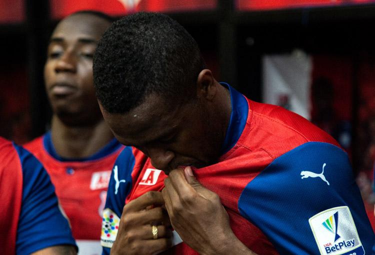 Kevin Londoño, Deportivo Independiente Medellín, DIM, Liga BetPlay 2021-I, Deportivo Cali, DIM 1-1 Deportivo Cali (2)