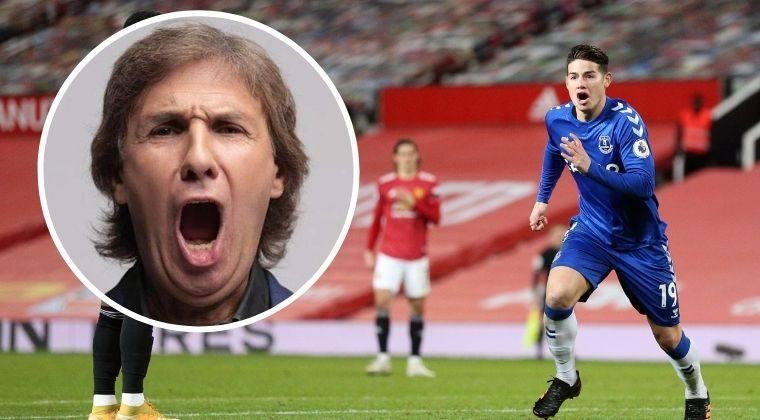 La canción del Bambino Pons tras gol de James Rodíguez al Manchester United