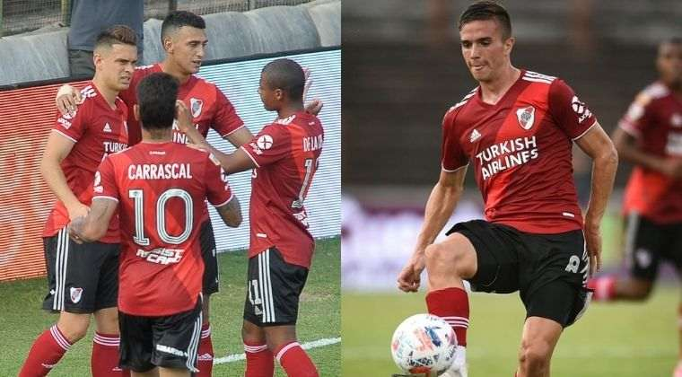Lesión para Santos Borré y gran partido de Palavecino en el Platense vs. River Plate