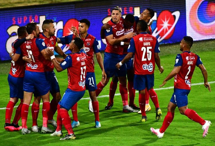 Matías Mier, Deportivo Independiente Medellín, DIM, Deportes Tolima, Copa BetPlay 2020, Copa Colombia 2020