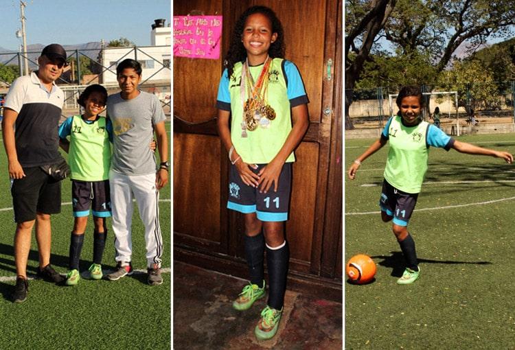 Mía Soto, Selección Colombia, fútbol femenino