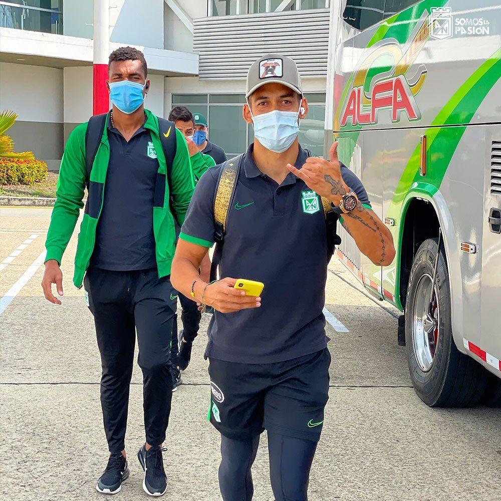 Con sorpresa a bordo viajó Atlético Nacional a Bucaramanga