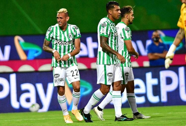 Neyder Moreno, Atlético Nacional, Deportivo Pasto, Liga BetPlay 2021-I