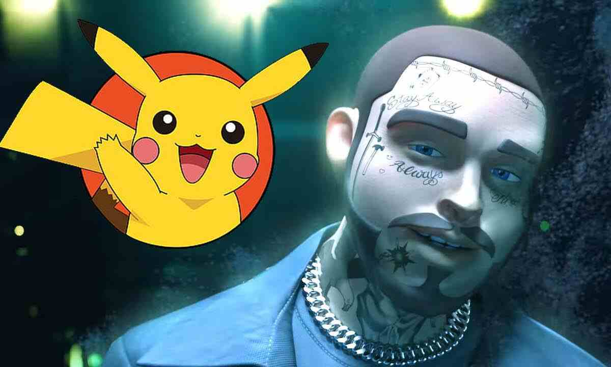 Otra colaboración en videojuegos Post Malone y su concierto en Pokemón