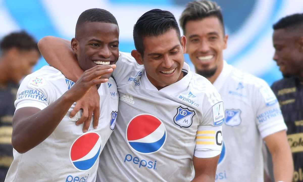 Partidazo en Zipaquirá 7 goles entre Millonarios y Once Caldas