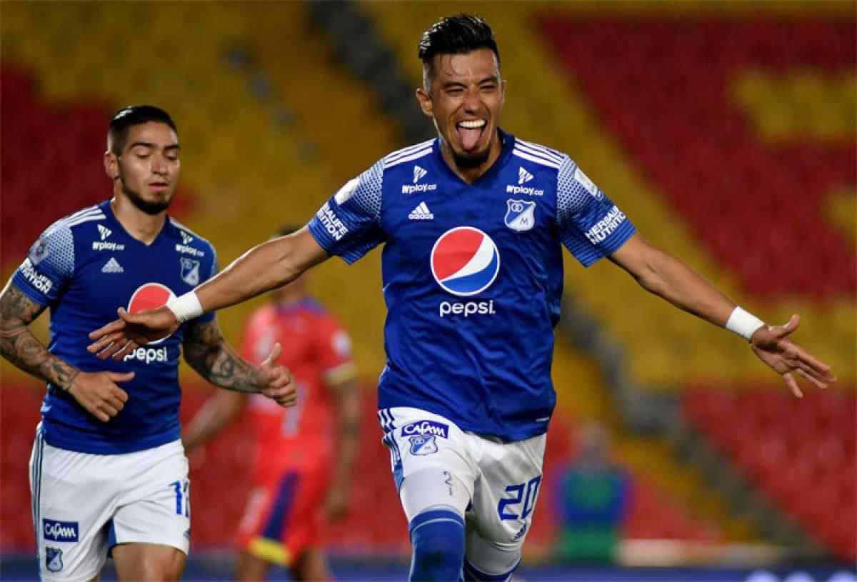 Preocupación en Millonarios: Fernando Uribe y Cristian Arango serán bajas ante Junior