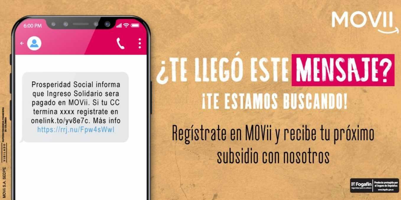 ¿Qué tarjeta se necesita para reclamar el Ingreso Solidario en MOVii?