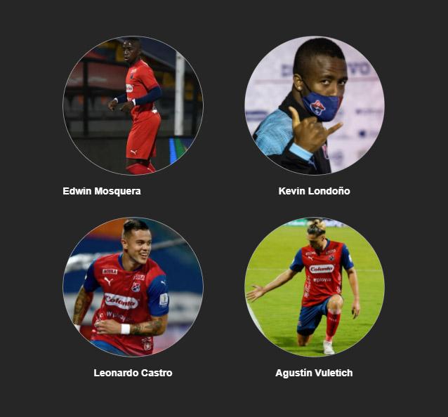 ¿Quién fue el mejor jugador del Medellín en la igualdad ante el Cali?