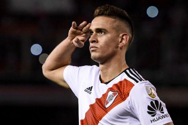 Rafael Santos Borré: en el once ideal de la Libertadores