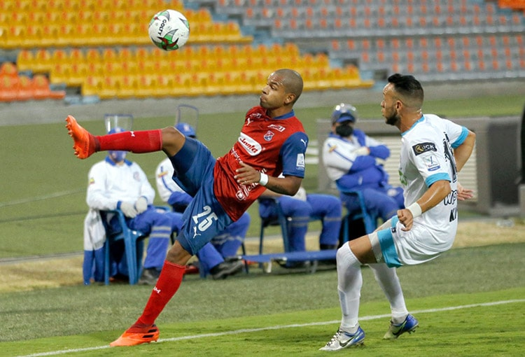 Robert Harrys, DIM, Deportivo Independiente Medellín, Liga BetPlay 2021-I, Deportivo Cali