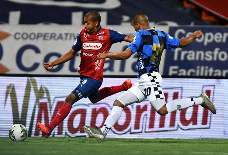 Robert Harrys, Edwin Mosquera, Jaen Pineda, Leonardo Castro, DIM, Deportivo Independiente Medellín, Liga BetPlay 2021-I, Deportivo Cali