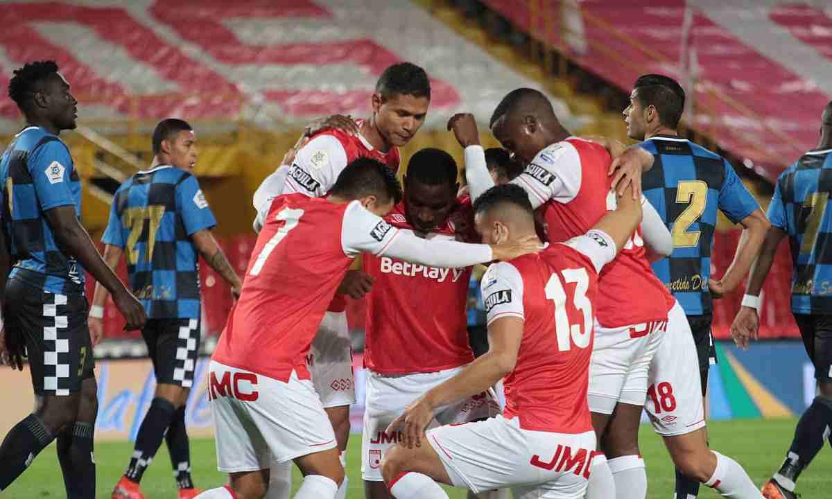 Santa Fe ganó con solvencia en su partido ante Boyacá Chicó