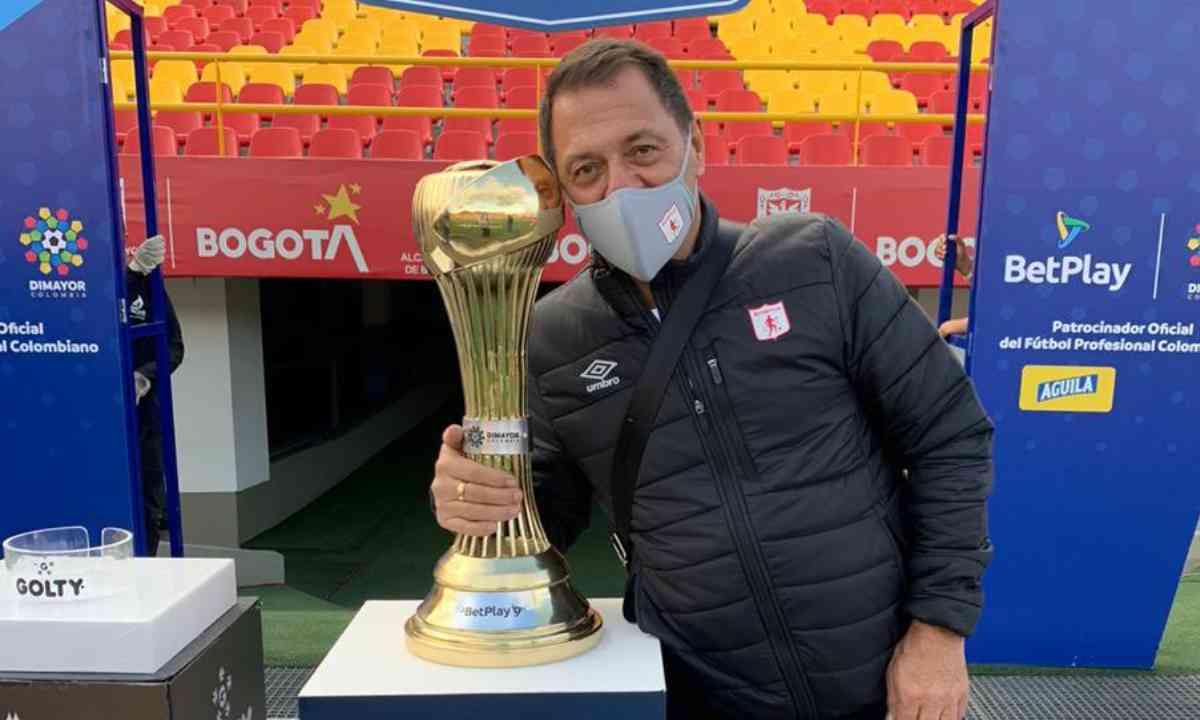 Tulio Gómez Queremos ser campeones de la Copa Libertadores