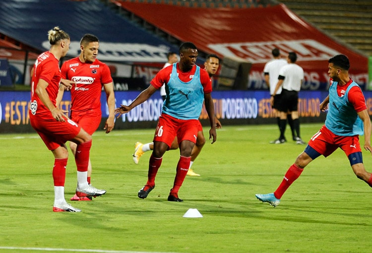 Víctor Moreno, Deportivo Independiente Medellín, DIM, Liga BetPlay 2021-I, Boyacá Chicó FC
