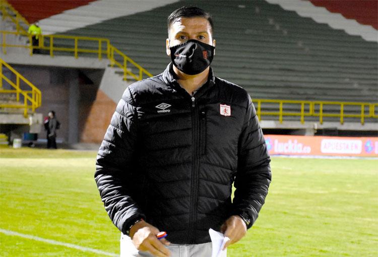 """Juan Cruz Real: de la queja por la cancha en Tunja al """"lo importante era ganar"""""""