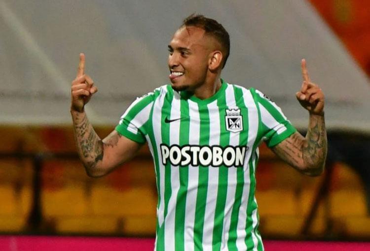 Goles y asistencias de Jarlan Barrera en Atlético Nacional