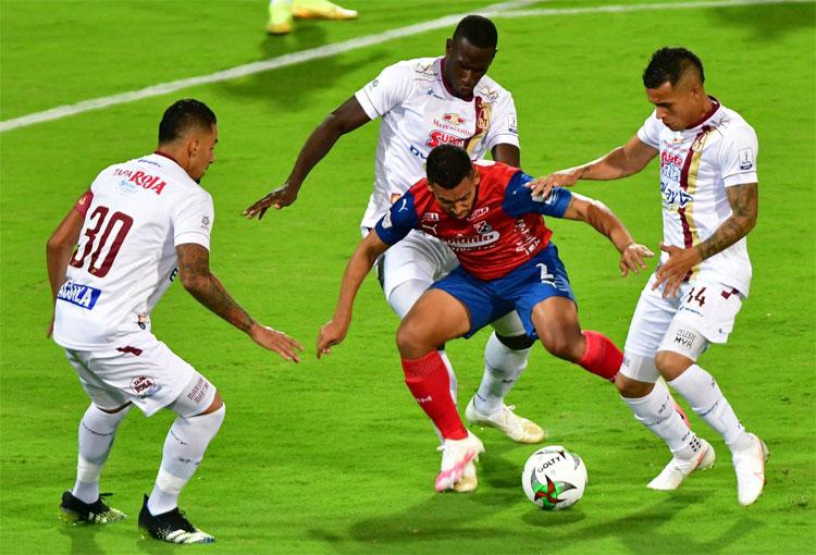 Deportes Tolima en la final de Copa BetPlay: del gol anulado al minuto 84 al empate en el 89