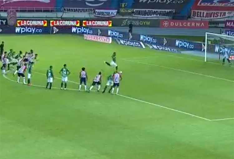 Deportivo Cali: ¡La forma de errar un penalti de Jhon Vásquez!