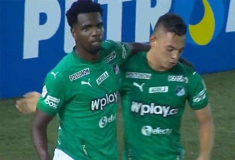 ¡Llegó el gol de Marco Pérez con Deportivo Cali!