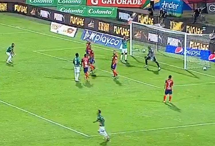 ¿Qué pasó, Marco Pérez? Jugadota de Deportivo Cali y un final inesperado