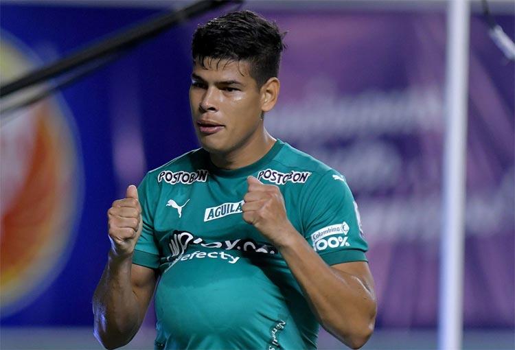 Jorge Arias, el defensor con gol de Deportivo Cali