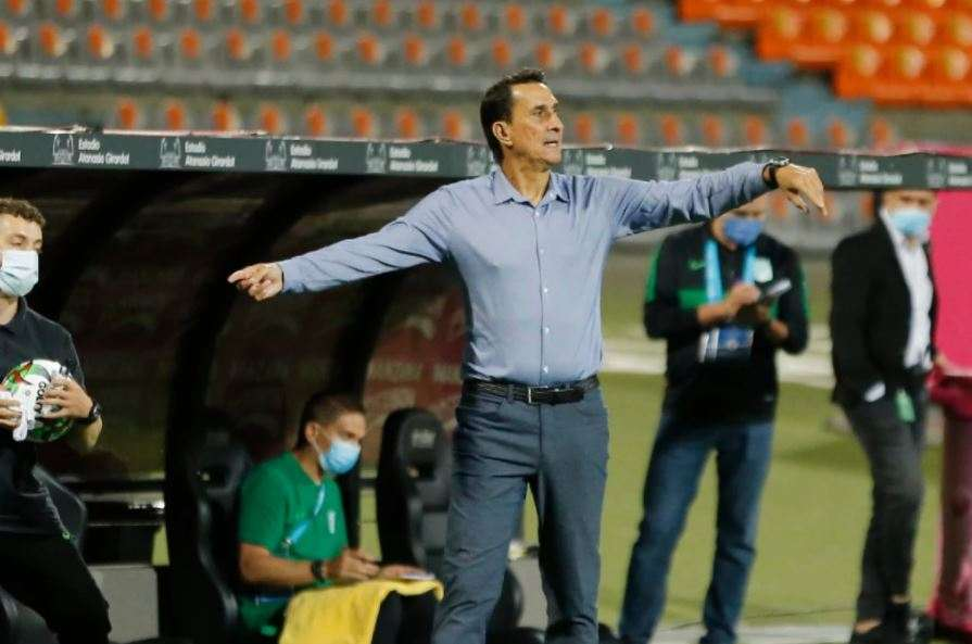 """Guimaraes y la invalidación del gol a Jarlan Barrera:""""Hubiera sido más justo el resultado"""""""