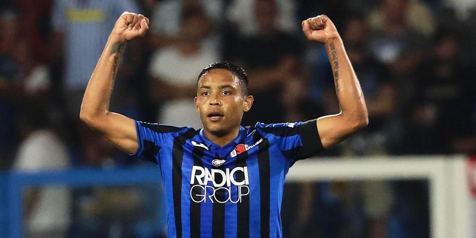 Prensa italiana califica de 'fenómeno de la Serie A' a Luis Fernando Muriel