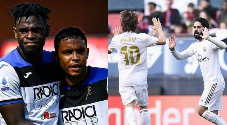 Formación titular de Atalanta y Real Madrid para duelo por Champions League