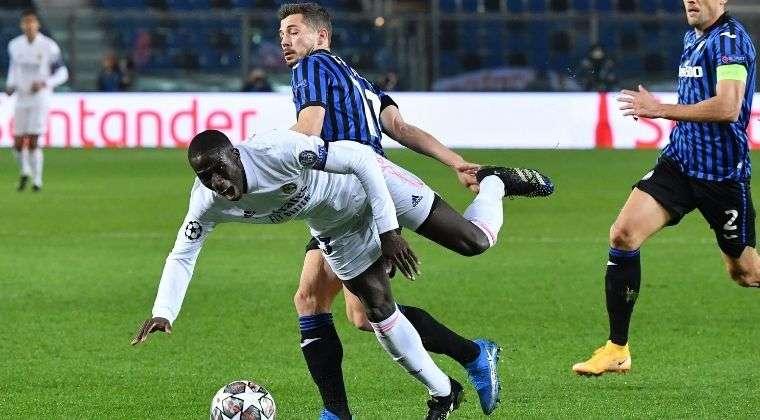 Polémica expulsión para Atalanta en el juego ante Real Madrid