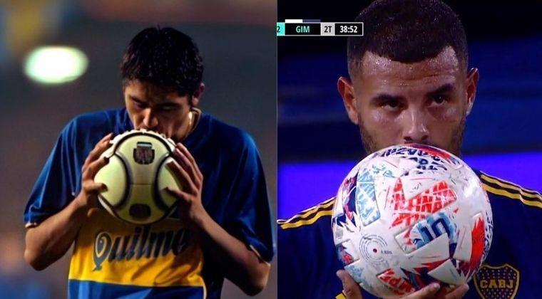 ¡A lo Riquelme! Golazo de Cardona en el empate de Boca Juniors ante Gimnasia