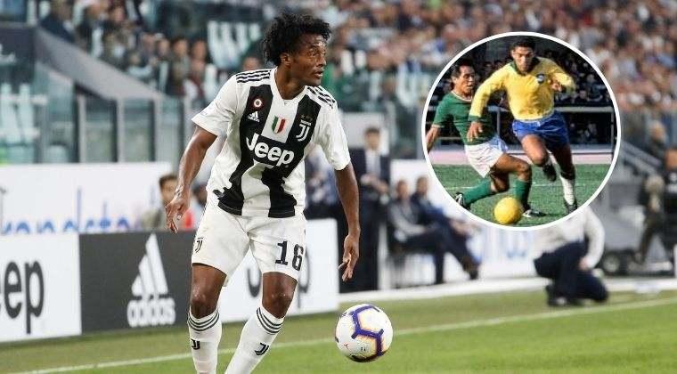 """""""Cuadrado se parece a Garrincha y marca más la diferencia que CR7 en Juventus"""""""