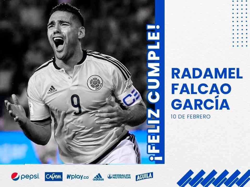 En el cumpleaños de Falcao García, ¡mensaje a Millonarios!