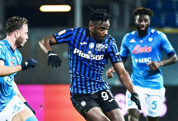 Duván Zapata: gol, doblete de asistencias y a la final de Copa Italia con Atalanta