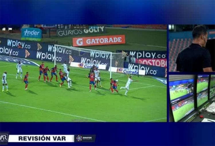 ¿Por qué intervino el VAR en la final de Copa BetPlay entre el DIM y Tolima?