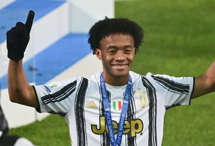Décima final para Juan Guillermo Cuadrado en 6 años con Juventus