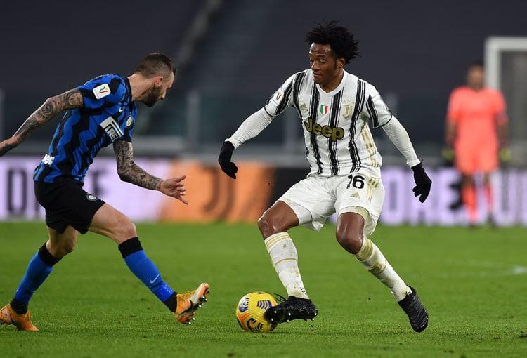 La historia de Juan Cuadrado en los Inter vs. Juventus