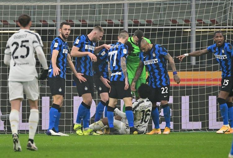 Cuadrado, el VAR y la polémica en la Copa Italia entre Inter y Juventus