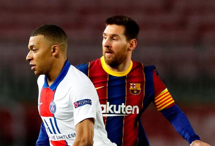 ¿Cambiar a Kylian Mbappé por Lionel Messi?