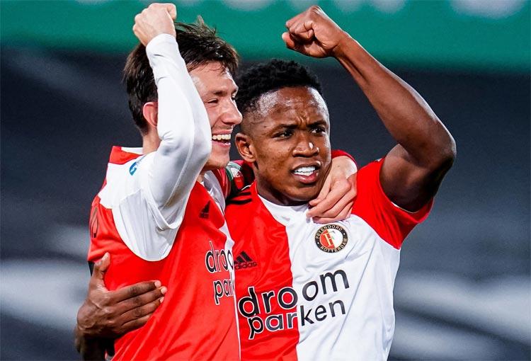 Los 10 goles de Luis Sinisterra con Feyenoord
