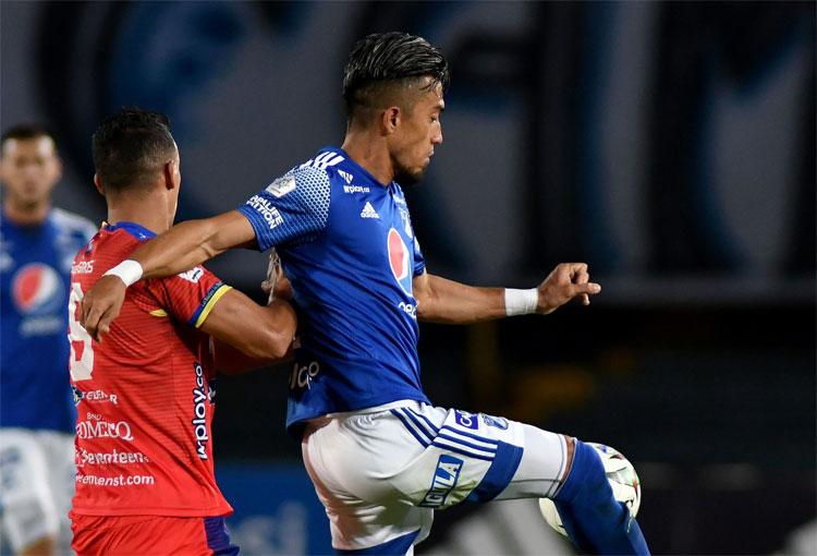 DT de Millonarios confirmó qué pasó con Fernando Uribe y Felipe Banguero. ¿Es grave?