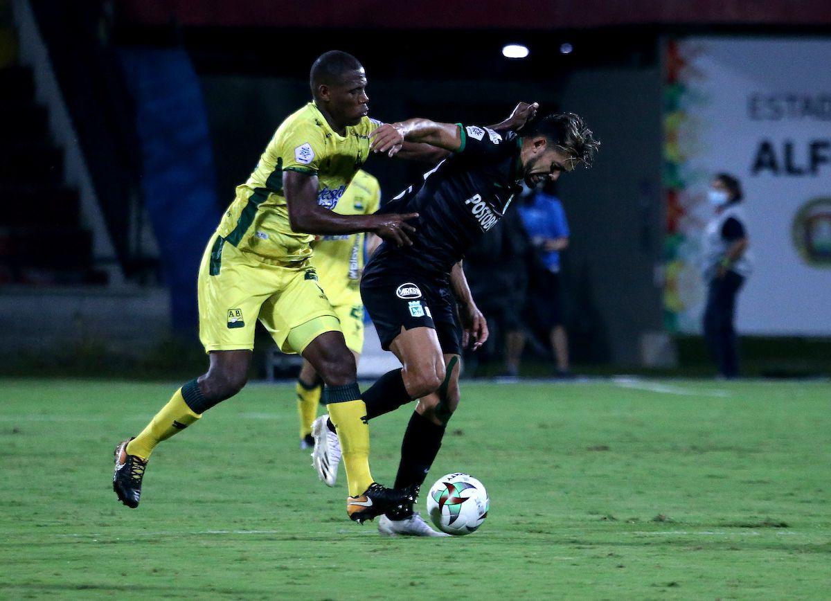 Atlético Nacional bajó cuatro puestos en la tabla de posiciones de la Liga BetPlay 2021-I