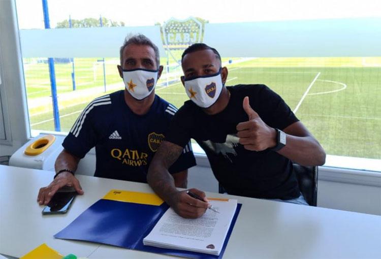 Números con los que Sebastián Villa renovó contrato en Boca Juniors