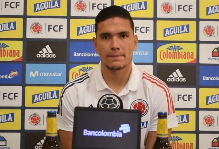 Aldair Quintana, David Ospina y el arco de la Selección Colombia