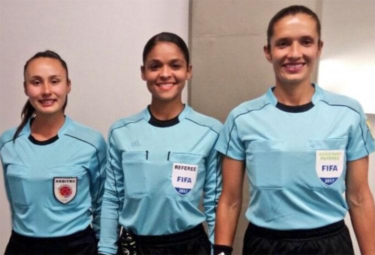 El partido del fútbol colombiano que tendrá terna arbitral conformada por mujeres