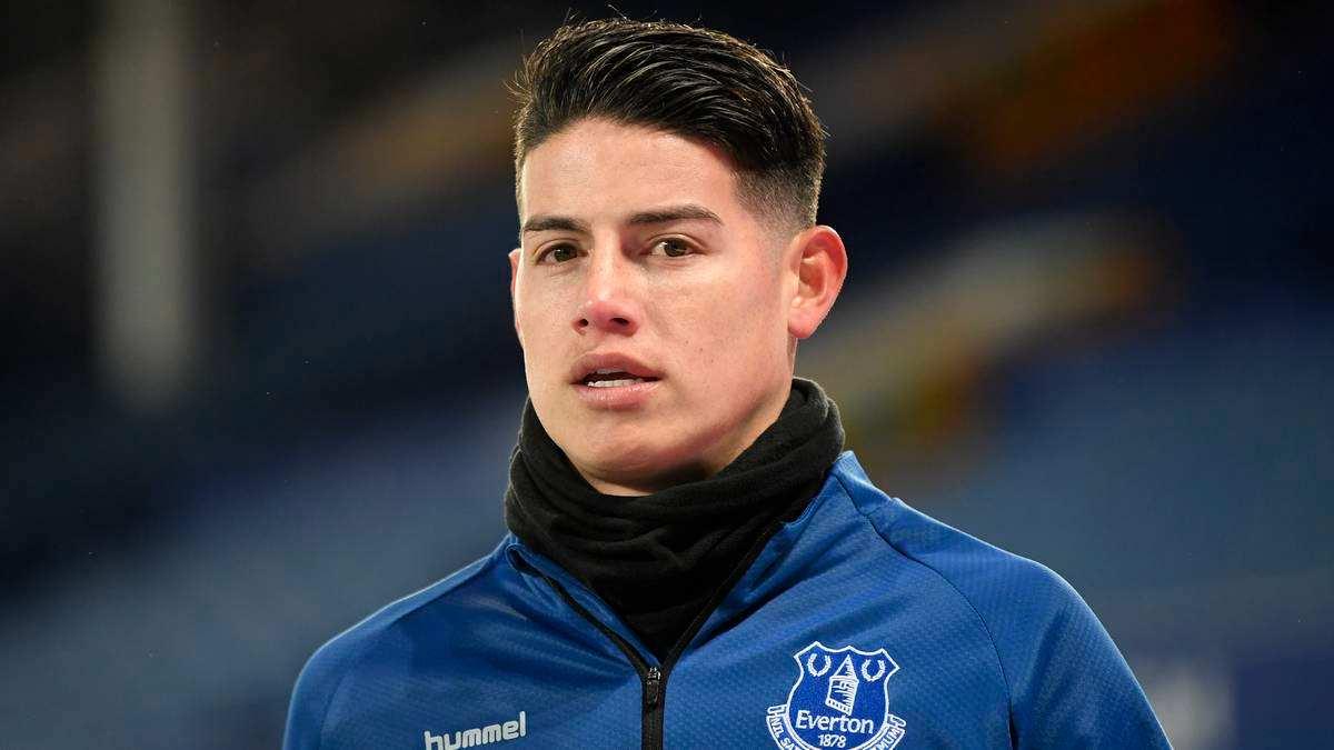 ¡Lo dijo todo! James Rodríguez habló de su presente en Everton y la razón de sus lesiones